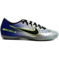 kengät Miehet Jalkapallokengät Nike Mercurialx Victory Njr IC Vaaleansiniset,Hopeanväriset