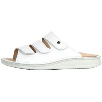 kengät Naiset Sandaalit Finn Comfort Korfu Weiss Nappa Valkoiset