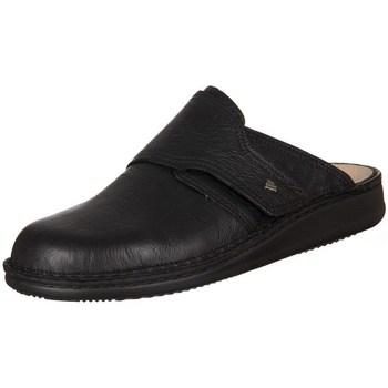 kengät Miehet Puukengät Finn Comfort Amalfi Carat Rangun Mustat