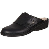 kengät Naiset Puukengät Finn Comfort Aussee Nappa Seda Mustat