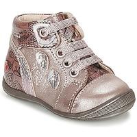 kengät Tytöt Korkeavartiset tennarit GBB ROSEMARIE Vaaleanpunainen