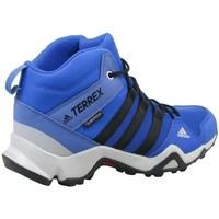 kengät Lapset Korkeavartiset tennarit adidas Originals Terrex AX2R Mid CP K Vaaleansiniset