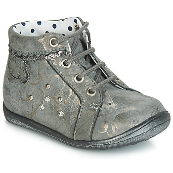 kengät Tytöt Korkeavartiset tennarit Catimini FANETTE Grey