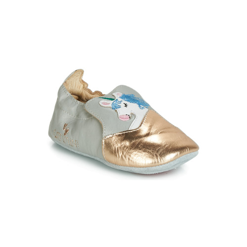 kengät Tytöt Tossut Catimini LICORNETTE Grey / Kulta