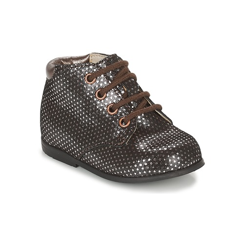 kengät Tytöt Bootsit GBB TACOMA Cuivré / Pink