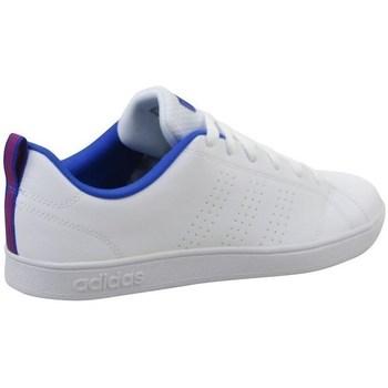 kengät Lapset Matalavartiset tennarit adidas Originals VS Advantage CL K Valkoiset