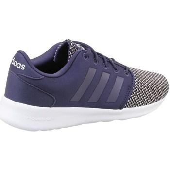 kengät Naiset Matalavartiset tennarit adidas Originals CF QT Racer W Valkoiset,Mustat,Vaaleansiniset