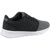kengät Naiset Matalavartiset tennarit adidas Originals CF QT Racer W Mustat,Harmaat
