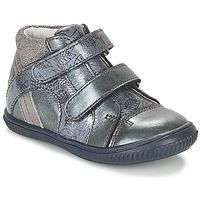 kengät Tytöt Korkeavartiset tennarit GBB ROXANE Blue / Grey