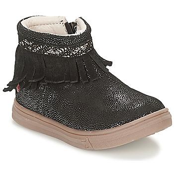 kengät Tytöt Bootsit GBB NEFFLE Black