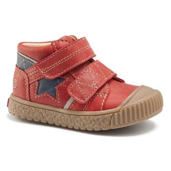 kengät Pojat Korkeavartiset tennarit GBB RADIS Tiilinpunainen/laivastonsininen / Dpf / Linux