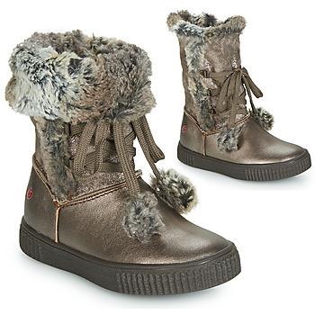 kengät Tytöt Saappaat GBB NOUSTIK Bronze