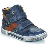kengät Pojat Bootsit GBB RENDALL Blue / Brown