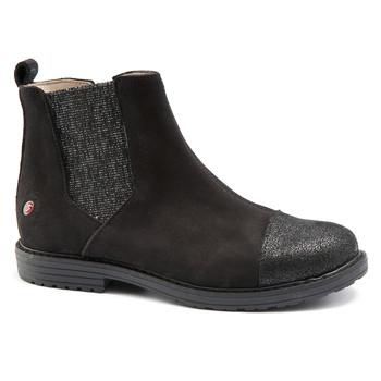kengät Tytöt Bootsit GBB LEONTINA Nuc / Black / Dpf / Emma