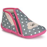 kengät Tytöt Tossut GBB MILKY Grey / Pink