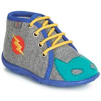 kengät Pojat Tossut GBB SUPER BOYS Grey / Blue