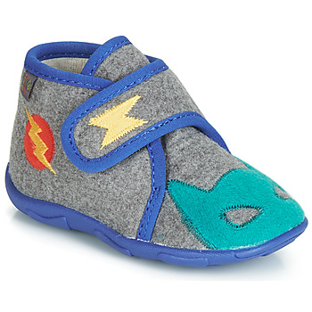 kengät Pojat Tossut GBB SUPER DOUDOU Grey / Blue