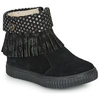 kengät Tytöt Bootsit Catimini PERETTE Black