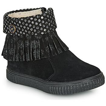 kengät Tytöt Bootsit Catimini PERETTE Black / Dpf / Ester