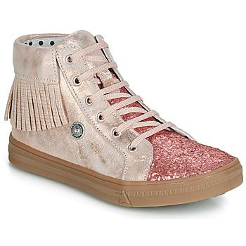 kengät Tytöt Korkeavartiset tennarit Catimini LOULOU Pink