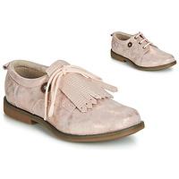 kengät Tytöt Derby-kengät Catimini ROMY Pink / Puuteri / Dpf