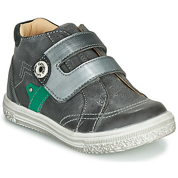 kengät Pojat Korkeavartiset tennarit Catimini BICHOU Grey
