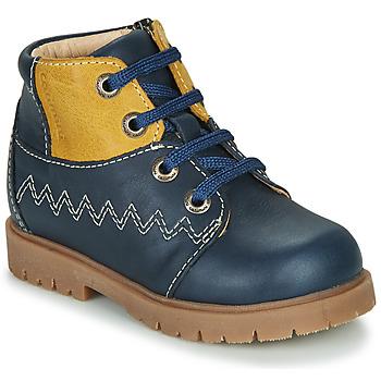 kengät Pojat Bootsit Catimini CHARLY Laivastonsininen