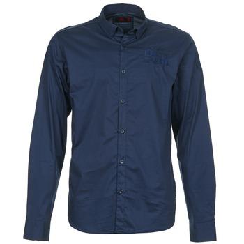 vaatteet Miehet Pitkähihainen paitapusero Les voiles de St Tropez ACOUPA Laivastonsininen