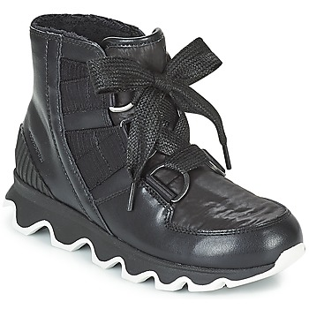 kengät Naiset Talvisaappaat Sorel KINETIC™ SHORT LACE Black
