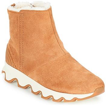 kengät Naiset Talvisaappaat Sorel KINETIC SHORT Camel