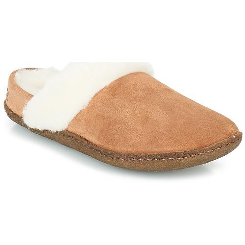 kengät Naiset Tossut Sorel NAKISKA™ SLIDE II Camel