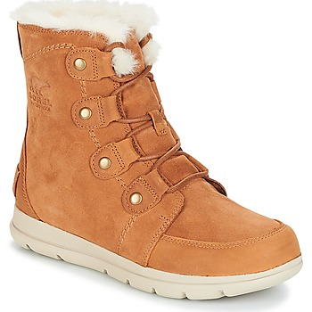 kengät Naiset Talvisaappaat Sorel SOREL™ EXPLORER JOAN Camel