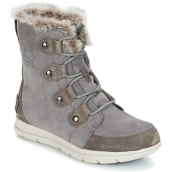 kengät Naiset Bootsit Sorel SOREL EXPLORER JOAN Grey