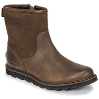 kengät Miehet Bootsit Sorel MADSON ZIP WATERPROOF Brown