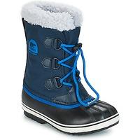 kengät Lapset Talvisaappaat Sorel YOOT PAC™ NYLON Laivastonsininen