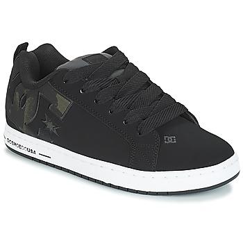kengät Miehet Skeittikengät DC Shoes CT GRAFFIK SE M SHOE BLO Black