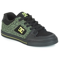 kengät Lapset Matalavartiset tennarit DC Shoes PURE SE B SHOE BK9 Black / Green