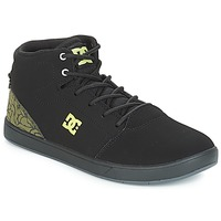 kengät Lapset Korkeavartiset tennarit DC Shoes CRISIS HIGH SE B SHOE BK9 Black / Green
