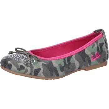 kengät Tytöt Balleriinat Lulu AG640 Vihreä