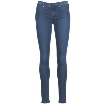 vaatteet Naiset Slim-farkut 7 for all Mankind SKINNY DENIM DELIGHT Blue