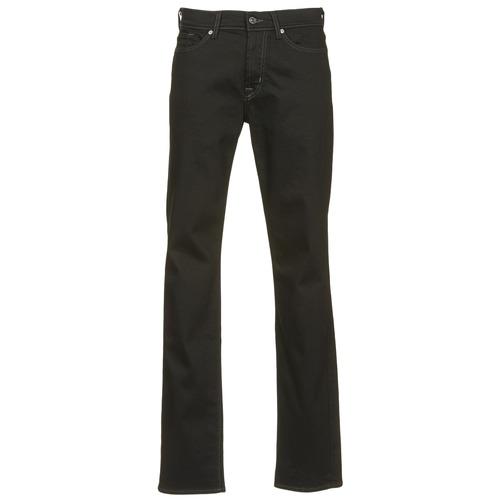 vaatteet Miehet Slim-farkut 7 for all Mankind SLIMMY LUXE PERFORMANCE Black