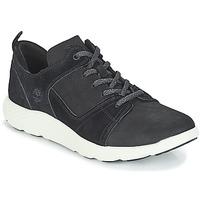 kengät Miehet Korkeavartiset tennarit Timberland FlyRoam Leather Oxford Black