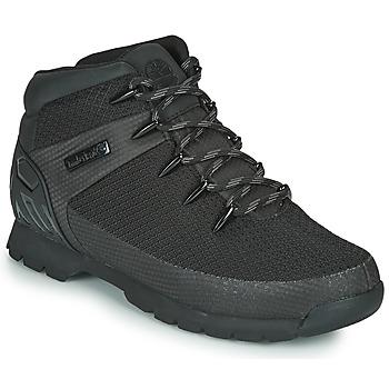 kengät Miehet Bootsit Timberland Euro Sprint Fabric WP Black