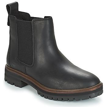 kengät Naiset Bootsit Timberland London Square Chelsea Black