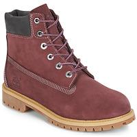 kengät Lapset Bootsit Timberland 7 In Premium WP Boot Bordeaux