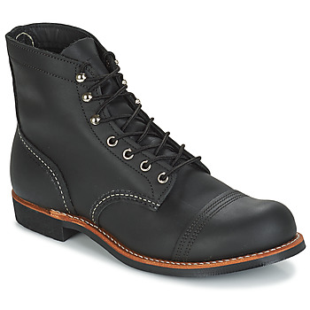kengät Miehet Bootsit Red Wing IRON RANGER Black