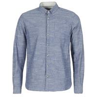 vaatteet Miehet Pitkähihainen paitapusero Casual Attitude IPODRUM Blue