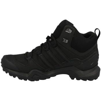 kengät Miehet Vaelluskengät adidas Originals Terrex Swift R2 Mid Gtx Mustat