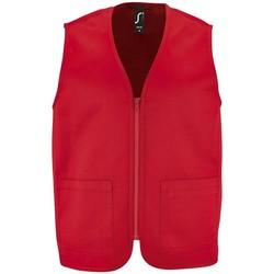 vaatteet Takit Sols WALLACE WORK UNISEX Rojo