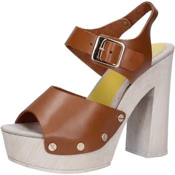 kengät Naiset Sandaalit ja avokkaat Suky Brand sandali marrone pelle AC482 Marrone